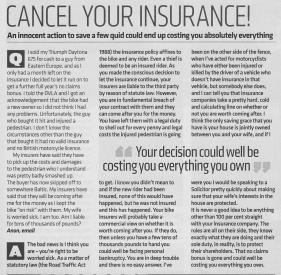 Insurance warning dec12